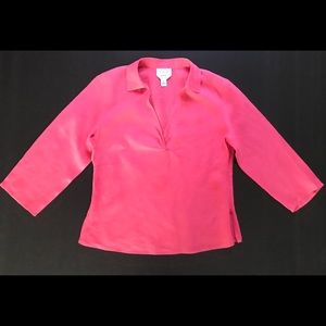 Women's Talbots career linen shirt